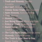 23 Songs About Honesty and Being Truthful