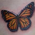 Monarch Tattoo