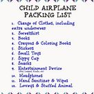 Flying with Children: Tips and Printable Packing Lists for Kids - The Chirping Moms