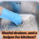 Useful drainer, and a helper for kitchen? Do you need one in your kitchen?😊