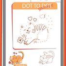 dot to dot printables preschool worksheets for kids