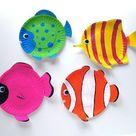 54 kluge Ideen für Basteln mit Kindern im Sommer! - ArchZine