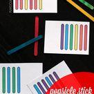 Craft Stick Patterns - Playdough To Plato