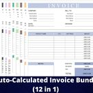 12 Invoice template, printable invoice, invoice printable, invoice, invoice template google sheets, business invoice template, google sheets
