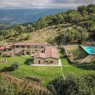 Cortona Tuscany Italy Real Estate - Farmhouse, vineyard, olive grove