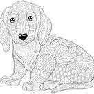 Dog Coloring Pages: Free Printable Coloring Pages of Dogs for Dog Lovers of All Ages | Printables | 30Seconds Mom