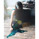 Sequin Mermaid Tail - Pearl