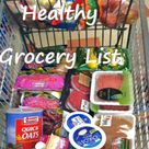 Healthy Grocery Lists