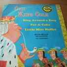 Vintage Mid Century 45 RPM Mother Goose Nursery Rhymes Old King cole Pat-A-Cake and More Golden Records Very Good Condition