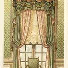 Framed Photo. King Louis XVI-style wall hanging, circa 1900