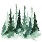 Woodland Trees No. 1