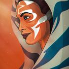 Finished up my Ahsoka illustration! Who else is stoked to see Rosario Dawson bring this character to life?!