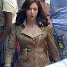 Scarlett Johansson and Paul Rudd on the set of Captain America: Civil War Lainey Gossip Entertainment Update