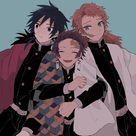   Save & Follow   Tanjiro Kamado • Sabito • Giyu Tomioka • Demon Slayer • Kimetsu no Yaiba