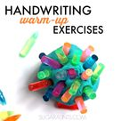 Handwriting Warm Up Exercises for Little Hands   The OT Toolbox