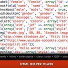 Html Helper Class