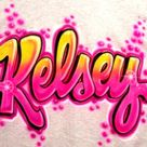 Personalized Custom Airbrushed Graffiti Ice T-Shirt;  ANY Name or Colors you Choose!