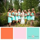 Aqua Wedding Colors