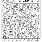 Free Printable Road Trip Games For Kids {I Spy} | Paper Trail Design