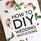 Print Your Own Invitations