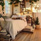 120 schockierende böhmische Schlafzimmerdekorationsideen für Sie um 10 | zu se … # Bett …