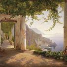 Giclee Print: Amalfi Dia Cappuccini by Carl Frederic Aagaard : 36x48in