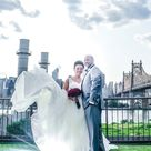 Multicultural Wedding on a Rooftop in Long Island City, Queens Sylvia + Jay  Munaluchi Bride