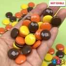 Peanut Butter Chocolate Reese's Fake Candy Flatback Charms Cabochons Decoden