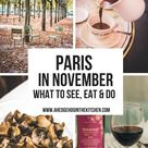 Paris in November - What to See, Do and Eat from Locals - A Hedgehog in the Kitchen