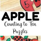 Fun Preschool Counting Puzzles for Early Learners