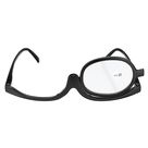 Women Makeup Magnifying Reading Glasses Flip Lens Make up Eye Glasses +1.00 ~ +4.00 - #7