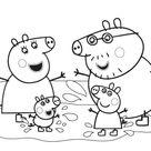 90 Desenhos Peppa Pig para colorir - OrigamiAmi - Arte para toda a festa