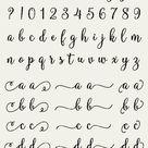 Molly Script Full Alphabet SVG Fonts Cutfile - Gorgeous Multiple Swashes fancy cricut font - DXF EPS Silhoutte Cricut - clean cutting files