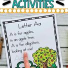 26 Alphabet Poems and Activities