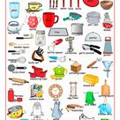 Kitchen Utensils Names: 30+ Kitchen Items in English (+Graphic)