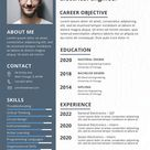 Electrical Engineer Fresher Resume Template [Free PSD] - Word, Apple Pages, Publisher