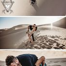 Flares, Love, and Sand Desert Photoshoot Couples - Couples Photos in the Desert