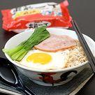 Hong Kong Style Instant Noodles 港式公仔面 Gong Zai Mian