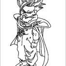 Dragon Ball Z Malvorlagen zum Ausdrucken 65