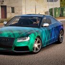 2011 Audi RS5 Coupé. This is a livery I found.