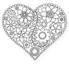 Happy Valentine's Day Coloring Pages for Adults & Kids