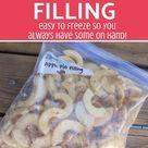 Frozen Apple Pie Filling – Maintaining Motherhood