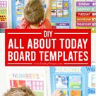DIY All About Today Board Template