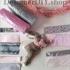 Easter Wreath Kit, DIY Wreath Kit, Easter Bunny wreath kit, bunny rabbit wreath, Spring wreath kit, pink bunny wreath, Easter door wreath