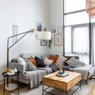 Home Tour of a Scandinavian Style Apartment in West London.