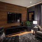 33 moderne TV Wandpaneel Designs und Modelle