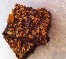 Chocolate Granola Brownies - Milk and Honey cafe
