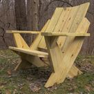 DIY Modern Adirondack Chair Plans
