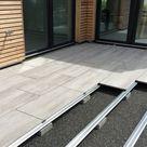 Profilsystem   Einfaches Verlegen für Betonplatten