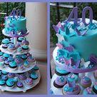 Purple Birthday Cakes